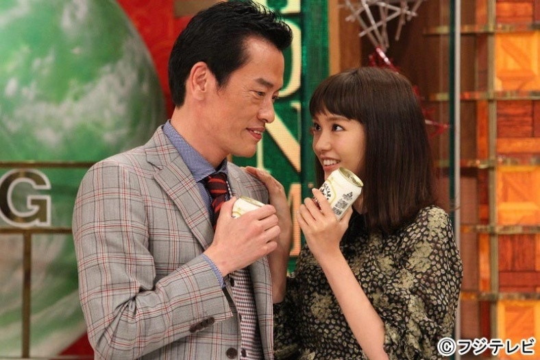桐谷美玲がモテ仕草披露 急接近の遠藤憲一に「羨ましい」「変わって」の声