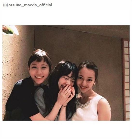 前田敦子・島崎遥香・板野友美、AKB48現役・OGメンバーの豪華3ショットに反響 選抜入りを祝福