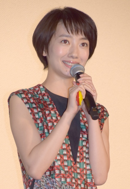 波瑠、初参加のアンパンマン映画が封切り「本当にすてきなお仕事」