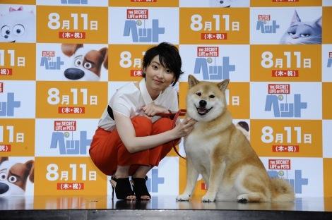 家入レオ、人気柴犬・まるちゃんと共演「すごくお利口さん」