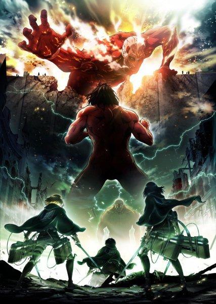 『 進撃の巨人 』テレビアニメ第2期が2017年春スタート!キービジュアルも公開