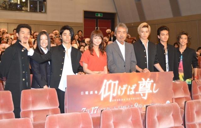 『仰げば尊し』初回平均視聴率11.4% 寺尾聰主演、注目若手俳優も多数