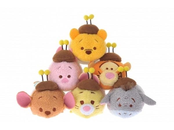 """""""はちみつの日""""にあわせ、ラビットやルー、ランピーまでハチにヘンシン♡「ハチプー TSUM TSUM」シリーズに胸キュン!"""