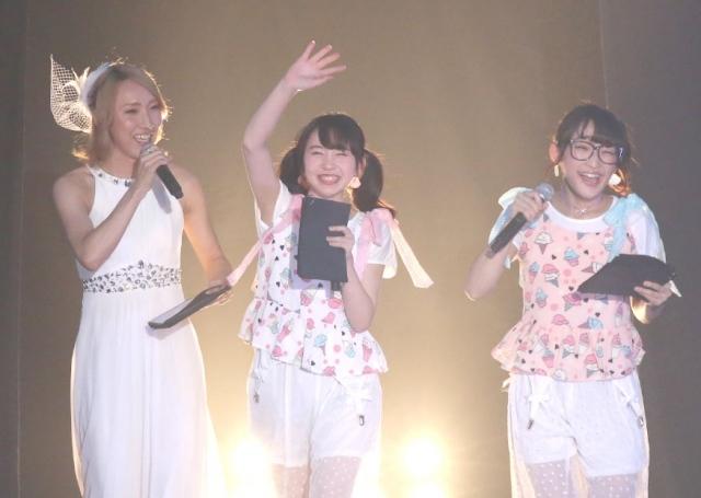 【Girls Summer Festival】まこみな&ゆしん 歓声少なく「もっと欲しい!」