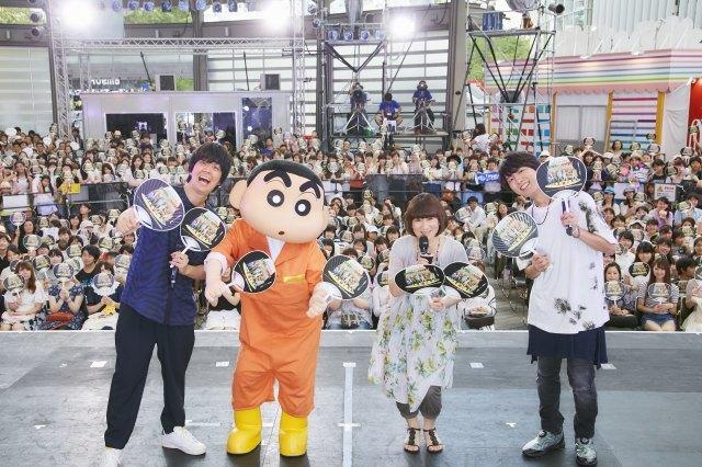 TVアニメ25周年のクレヨンしんちゃん「これからも5歳児続けます」