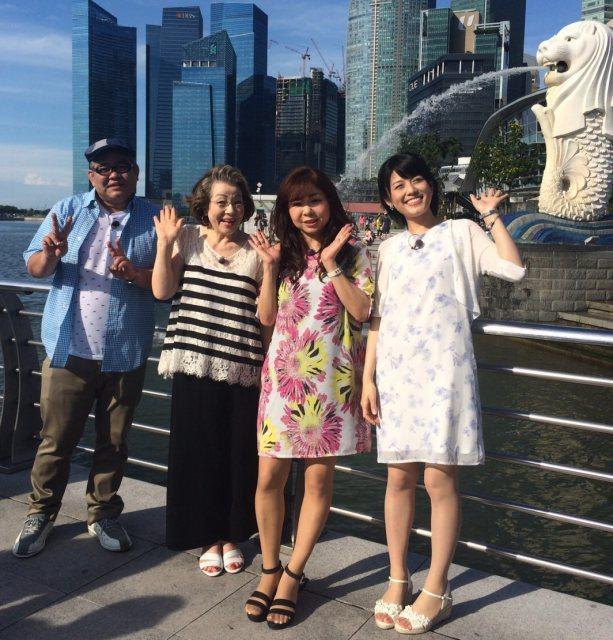 ジャニーズWEST・重岡、シンガポールロケ満喫「すこし太っちゃいました」