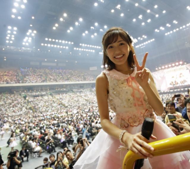 AKB48が「推しメン席」前で歌唱&撮影もOKに 1万6000人が大興奮