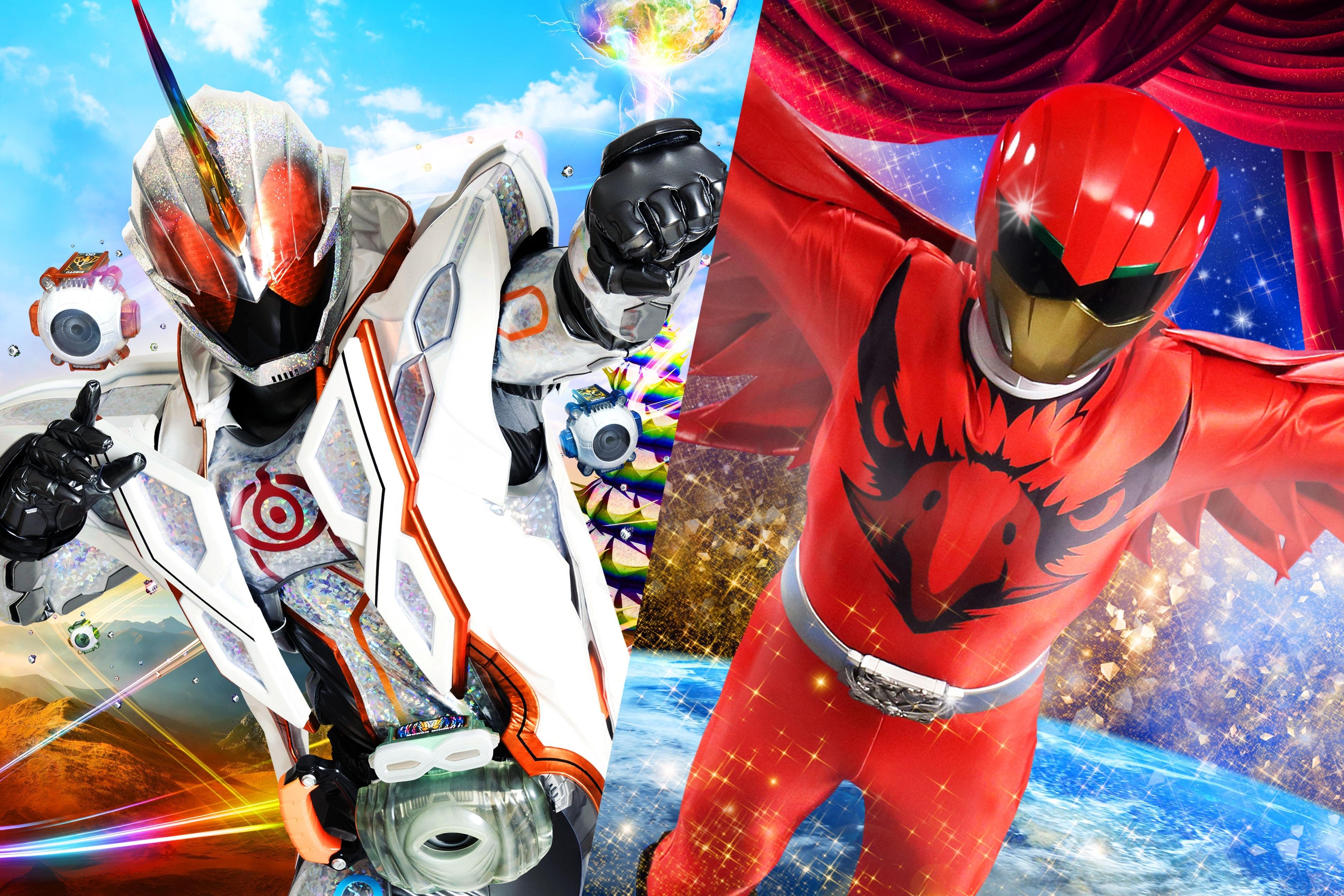 ゴジラだけの夏ではもったいない!!仮面ライダー&スーパー戦隊劇場版を忘れるな!