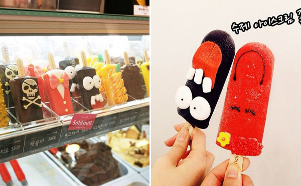 ポップでかわいい♡食べ歩きにぴったりな韓国のデコアイスが人気!