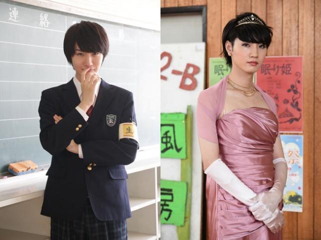 桜田通、ドラマ『こえ恋』で女装姿披露「つけまつげ…重い」