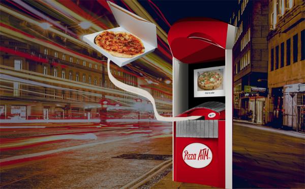 ピザの自動販売機がアメリカで登場☆24時間いつでも焼きたてが食べられる♪