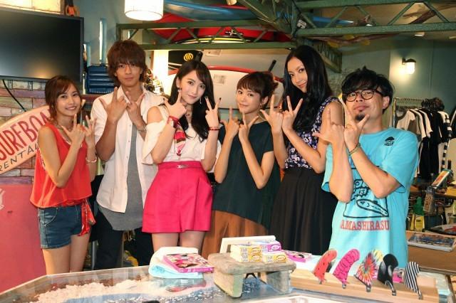JYこと知英、月9撮影現場訪問 桐谷美玲と女子トーク「キュンキュンさせて」