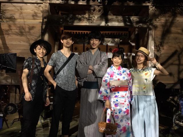 miwa&坂口健太郎、浴衣姿のオフショット解禁 映画『君と100回目の恋』