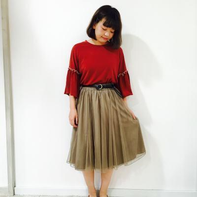 女子に着てほしい♡夏→秋は【チュールスカート】で大人かわいく♪