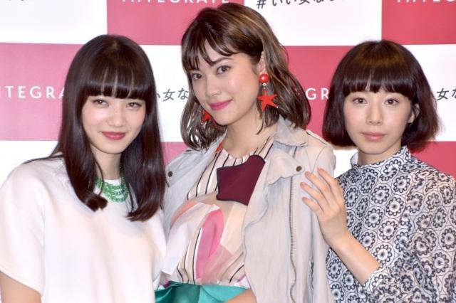 """小松菜奈、森星、夏帆の3人が新CMで共演 """"大人かわいい""""ライフスタイルを提供"""