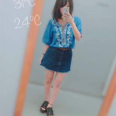 夏→秋を彩る♡繊細な刺繍入りアイテムに注目♪