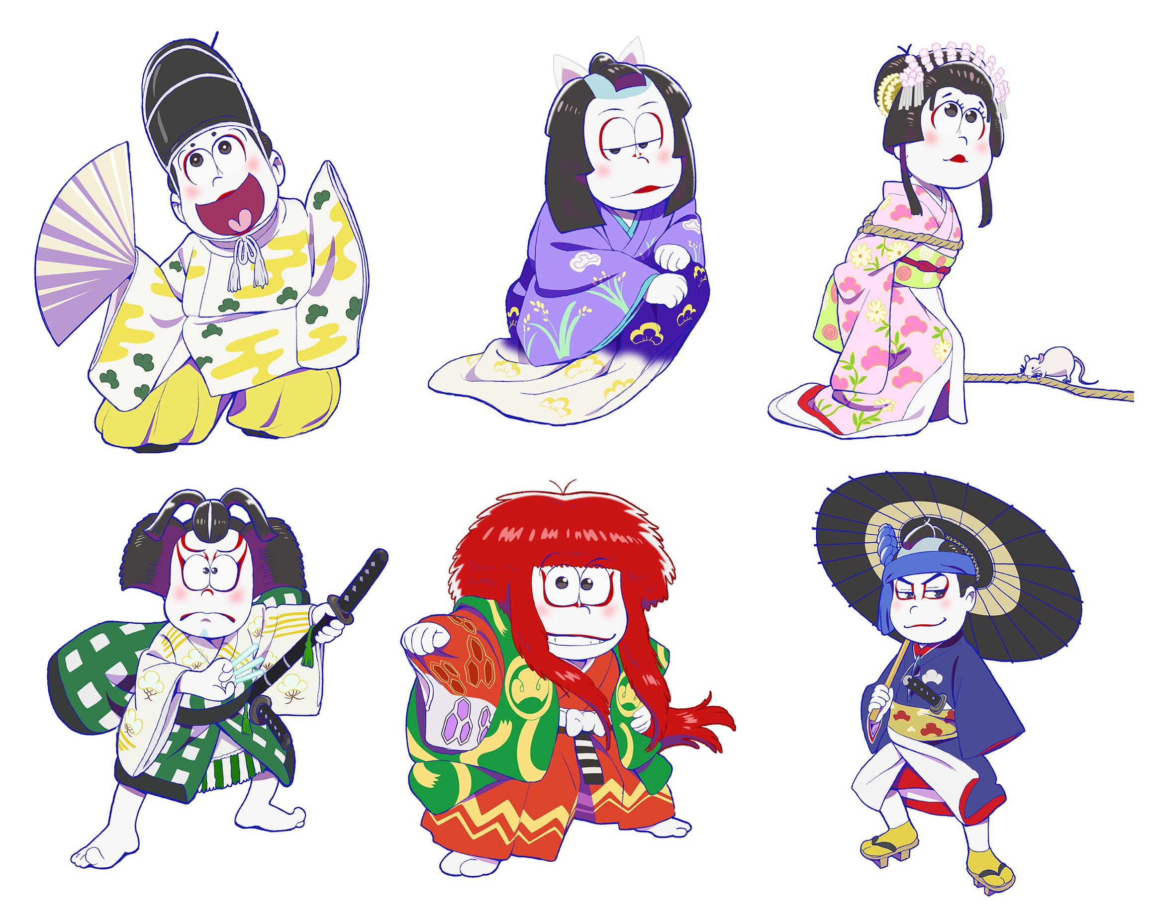 おそ松さん、歌舞伎とのコラボ商品発売!第1弾全ラインナップを紹介
