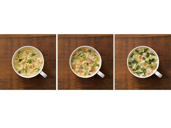 鍋を作らなくても〆雑炊がすぐ食べられる♪無印良品の「小さめごはん」シリーズにフリーズドライで簡単!4アイテムが新登場