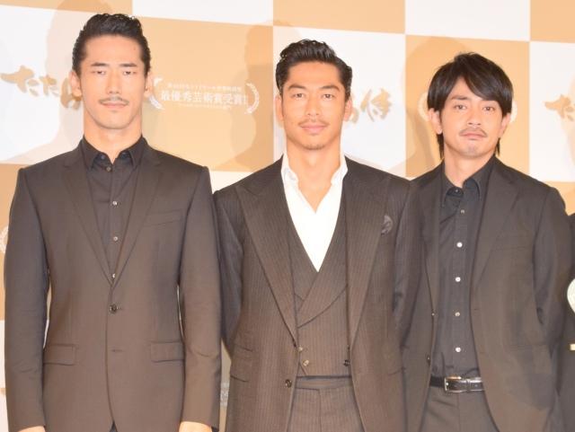 AKIRA&小林直己&青柳翔が凱旋会見 モントリオール映画祭での受賞「驚き強かった」