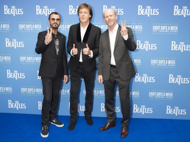 ポール&リンゴら登場に大歓声 映画『ザ・ビートルズ』プレミア上映