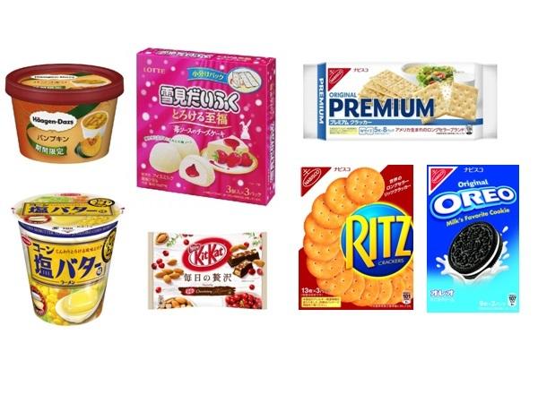 【コンビニ新商品】9/12~9/16に発売された新商品は?新しい「リッツ」や「オレオ」、「ハーゲンダッツ パンプキン」が登場!