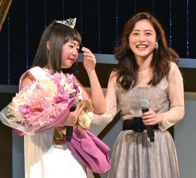 ホリプロTSC頂点は史上最年少12歳 柳田咲良さん 石原さとみ祝福に号泣