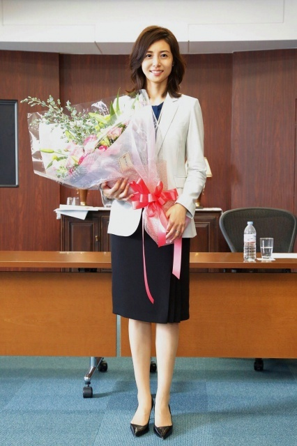 松嶋菜々子、3年ぶり主演連ドラクランクアップ「大切な作品になりました」