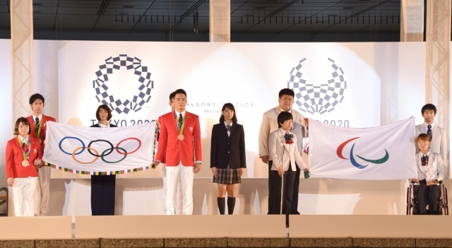 "TOKIO、五輪旗ツアーの""顔""に就任 デビュー日と重なり城島茂「ジュースで乾杯」"