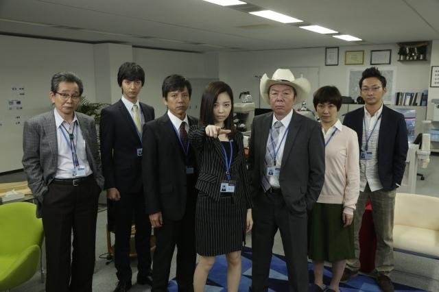 """女デカ長""""ぱるる""""を支える『ナシゴレン課』のメンバーが勢ぞろい"""