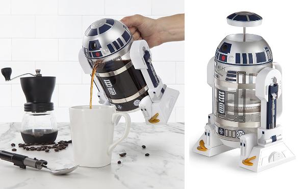 『スター・ウォーズ』ファン必見!R2-D2のコーヒープレスがかわいすぎるっ♡