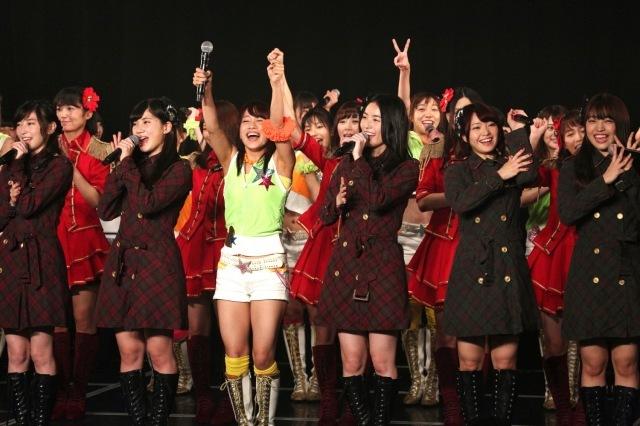 SKE松井珠理奈、8周年で公約「10周年までに日本一になるぞ!」