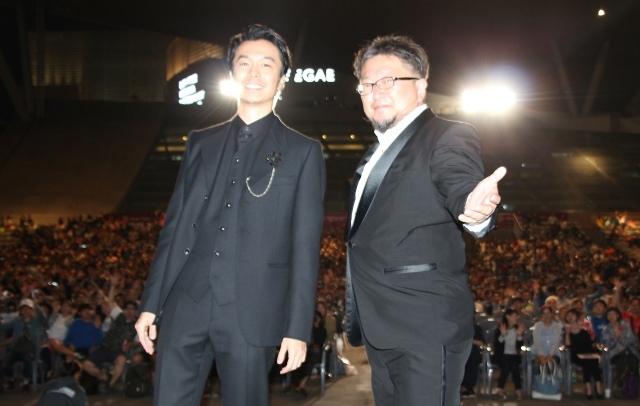 長谷川博己、『シン・ゴジラ』の喜び再び 『釜山映画祭』で上映