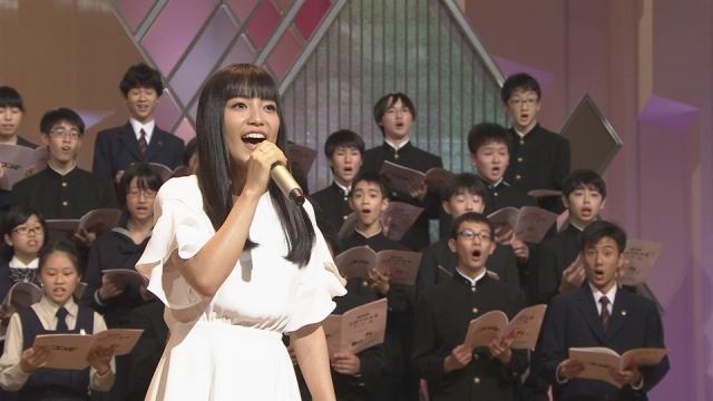 miwa、「Nコン」ステージで涙の大合唱