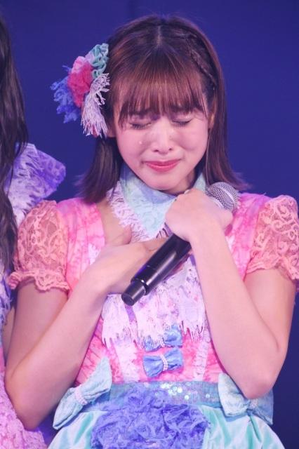 """JKT48仲川遥香、""""故郷""""アキバに錦 「夢の河」を涙の熱唱"""