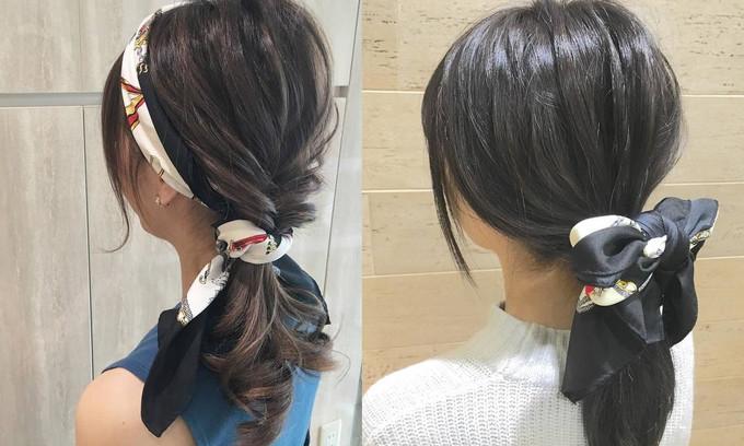 「地味にスゴイ!」石原さとみさんの髪型に習う♡華やかスカーフアレンジ特集♡
