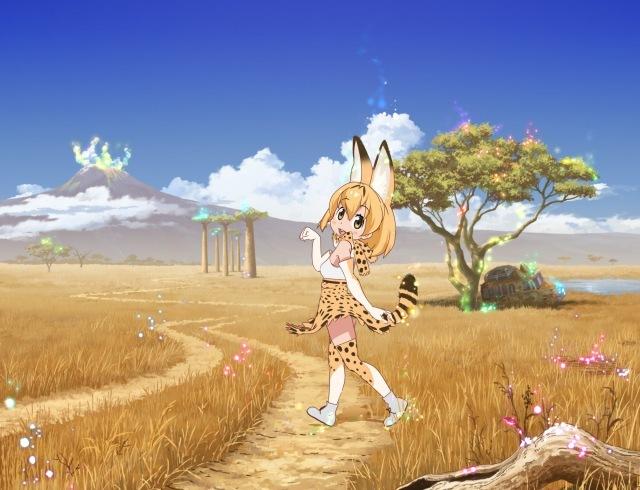 吉崎観音氏が参加 『けものフレンズ』フル3Dアニメ化、17年1月放送