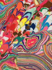 マーブル柄の魔法。上品でおしゃれなマーブルネイルデザイン特集