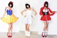 ユニコーン、白雪姫、赤ずきん…ハロウィーン注目コスを人気モデルが披露
