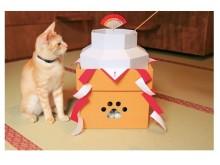猫好きなら、今年の年賀状の題材はこれにする?猫鏡餅セットにネコまっしぐら!!