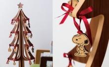 スヌーピーがオーナメントに!PEANUTS×カリモクのクリスマスツリーがかわいい