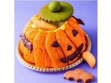 かぼちゃ型のケーキの中にはお菓子がかくれてる?!遊び心が楽しい「TRICKかぼちゃ」