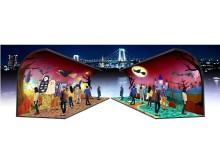 魔女やカボチャがお台場に出現!ハロウィンイルミネーションが東京湾を輝かせる‼