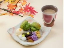 秋のティータイムはしっとり和風が気分!秋限定の壷切茶を使ったスコーン&秋の味覚とほうじ茶オレで大人気分に