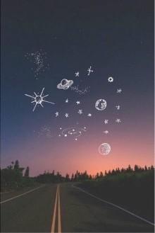 一目惚れの季節…♡夜空ネイルの人を惹き付ける魔法デザインまとめ☆