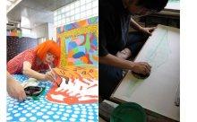 草間彌生が初挑戦した浮世絵「わたしの富士山」展が開催