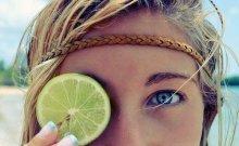 フルーツモチーフ流行中♡夏ネイルはレモン柄に挑戦!
