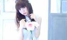 ガーリー系雑誌LARME風♡甘い雰囲気には暗髪ワンカールロングがおすすめ!