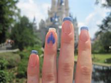 【Disney】夢の国♡シンデレラのSWEETな透明感ネイルデザインまとめ