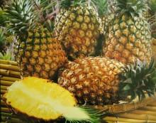【フルーツネイル】夏ネイルにぴったりなのはかわいいパイナップルモチーフ♪