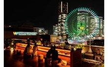 """270度パノラマで横浜の夜景を楽しむ""""極上デートスポット""""がオープン!"""